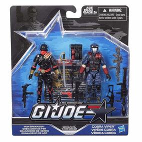 Gi Joe 50th Iron Grenadier E Cobra Viper 2016 - Brinquetoys