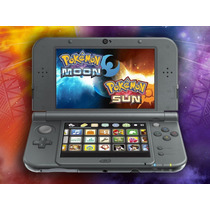 New 3dsxl + Pokemon Sun And Moon E 48 Jogos Pokemon - 3ds Xl