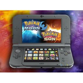 New 3dsxl + Pokemon Sun And Moon E 48 Jogos Pokemon - 3ds Xl