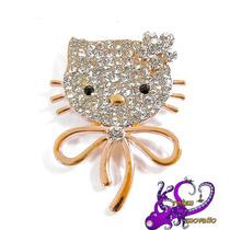 Hello Kitty Bisutería Fina De Moda Navidad Abrigo C/cajita