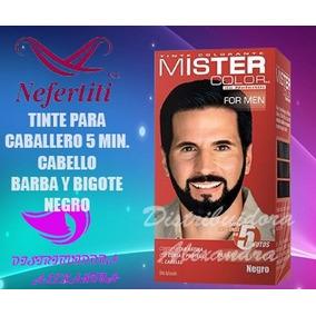 Mister Color Tinte Para Caballero Negro 5 Min