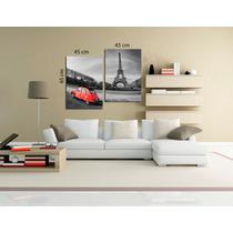 Torre Eiffel Bastidor En Tela Canvas Envio Gratis