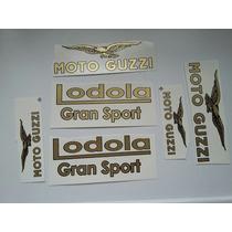 Guzzi 175 235 Lodola Gran Sport Juego De Calcos Al Agua