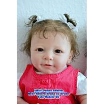 Boneca Bebê Reborn Bruna Ou Bruno Quase Real Opção Econômica