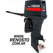 Motores Yamaha 75hp Enduro Manual Entrega Inmediata! Renosto