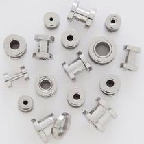 Par Alargador Piercing 2mm, 4mm, 6mm, 8mm Aço Inox Cir