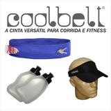 Coolbelt + 2 Squeeze 220ml / Cinto Para Corrida + Hidratação