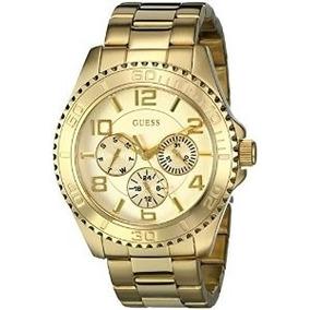Relógio Guess Mod.wo231l2 Dourado Unixes Original