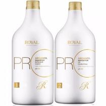 Escova Progressiva Royal Promax Óleo De Argan 300ml + Brinde