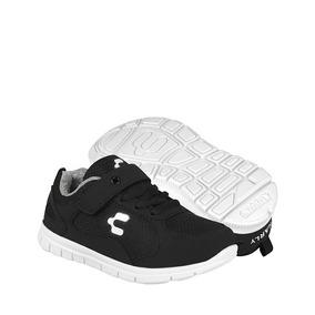 Charly Zapatos Niños Atleticos 1061873 18-21 Textil Negro