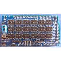 Arduino Shield Sensor Mega Pic Master Atmel Avr