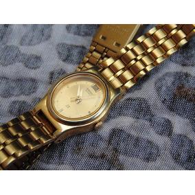 Reloj Seiko Sx - Quartz - Dama, Dorado