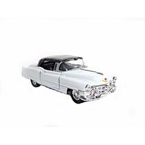 1953 Cadillac Eldorado Branco 1/43 Welly Diecast