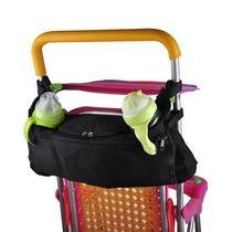 Carrinho De Bebe Bolsa Organizadora Nenem Mamadeira Celular