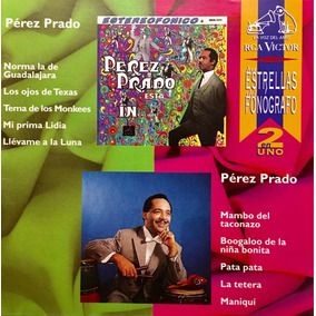 Cd Perez Prado 2 En 1 Usado