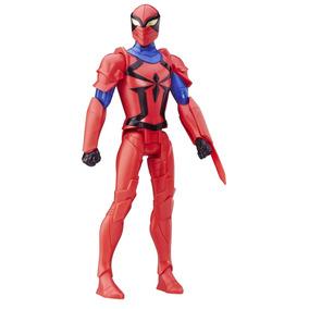 Spiderman Spyder Knight Figura De Accion H=30cm Hasbro Nuevo
