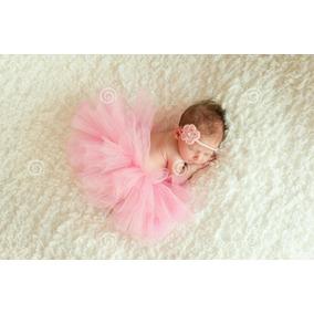 Tutu Pollera De Tul Para Bebés Sección De Fotos Con Conona