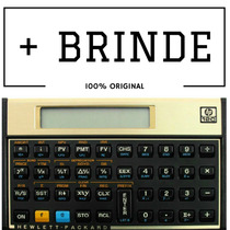 Calculadora Financeira Hp 12c Gold + Brinde 100% Original