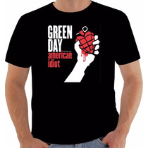 Camiseta Original Disco Green Day American Idiot 2004