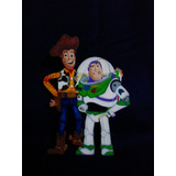 Toy Story Decoracion Mdf Fiesta Buzz Y Woody