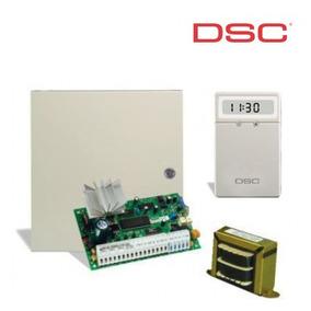 Kit Central Dsc Pc585-6w De 8 Zonas + Teclado Lcd Pc5511 +