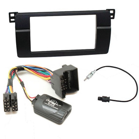 Moldura 2 Din E Interface Quadlock Bmw Serie 3 E46 98-05
