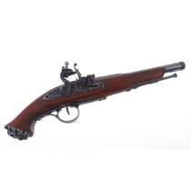 Dx1103g Denix Replica Pistolon Polvora Negra Pirata De 1700