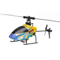 Helicoptero 3d Sh 6050 6 Canais Controle 2.4ghz Profisional