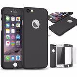 Funda Protector Iphone 7 Plus 6 6s , Policarbonato + Cristal