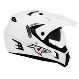 Casco De Moto Argo Doble Proposito Rocket Force Original