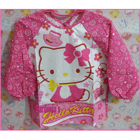 Delantal Escolar Hello Kitty