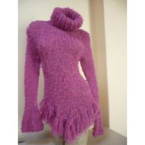 Sweater Pullover Artesanal Tejido A Mano Hasta Xxl