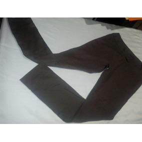 Pantalon De Vestir De Dama Gris Forever Bota Recta Talla 28