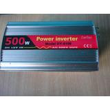 Convertidor Inversor De Tension 500 Watts 12 V. A 220v Usb