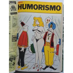 6 Revistas Piadas Encadernadas 430 Pgs Ilustradas Dec. 70 Pb