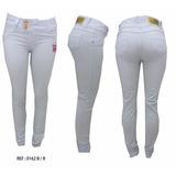 Calça Jeans Branca 36 Cintura Média