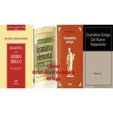 Libros Digitales Gramática Hebrea Y Griega Bíblica
