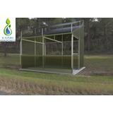 Planos Invernadero 20m2 P/forraje Verde Hidropónico 120kg.