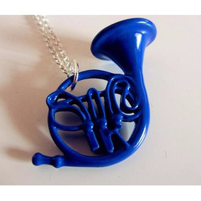 Colar Seriado How I Met Your Mother Blue French Horn Trompa