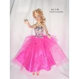 Regalo Día Del Niño Ropa - Vestidos Para Muñecas Barbie