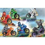 Ninjago Elemental Motorcycles Ninjas Jay Kai Zane Cole Lloyd