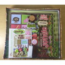 Safari Kids Scrapbook Kit Álbum De Recortes A8