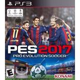 Pro Evolution Soccer 2017 Pes 17 Ps3 (relatos Argentinos)
