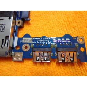 Placa Usb, Micro Sd + Sata Netbook Acer D250 Kav60 Ls-5143p