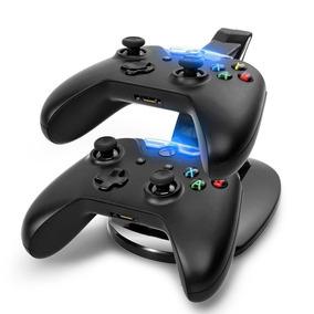 Control Xbox One S Base Cargador Torre Para 2 Controles Eg