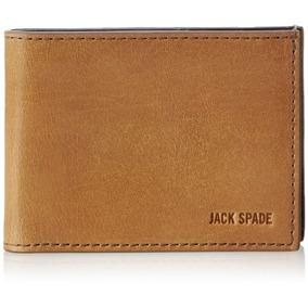 Jack Spade Mitchell Leather Index Monedero Billetera