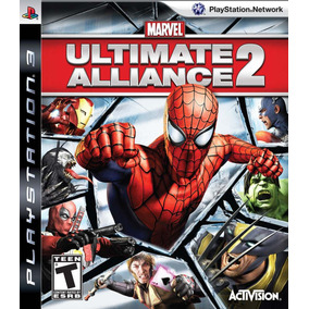 Manual Instruções Do Jogo Marvel Ultimate Alliance 2 Ps3