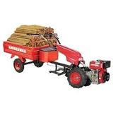 Micro Trator A Diesel 7hp 4t Com Carreta E Extensor Kawashim