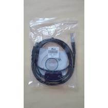 Cable De Descarga Para Estacion Total Leica Usb. Gev189