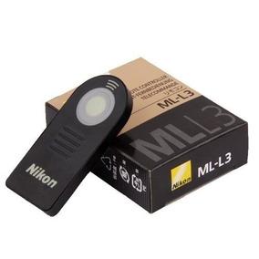 Controle Shutter Nikon Dslr D3200 D5100 Ml-l3 Frete Gratis